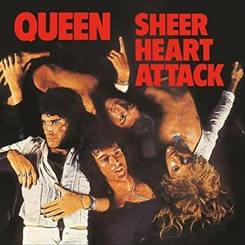 Sheer Heart Attack (180g, Black Vinyl, Limited Edition)