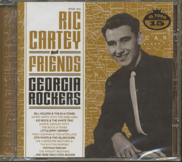 Ric Cartey & Friends - Georgia Rockers (CD)