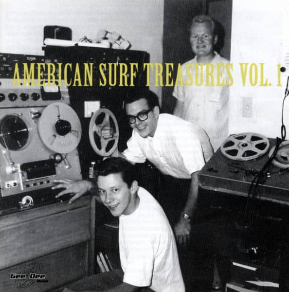 American Surf Treasures Vol.1 (CD)