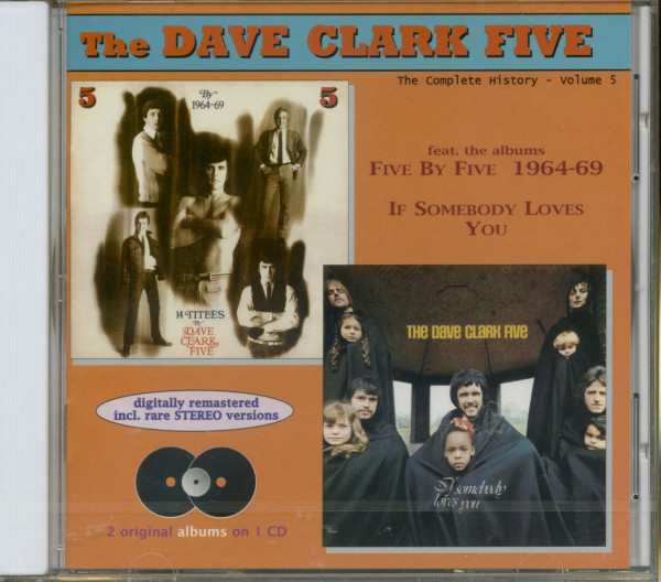 Complete History Vol.5 - Five By Five 1964-69 - If Somebody Loves You (CD)