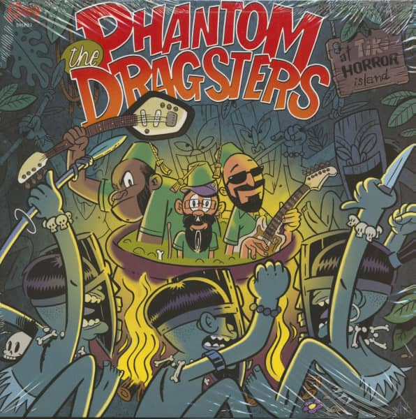 The Phantom Dragsters At Tiki Horror Island (LP)