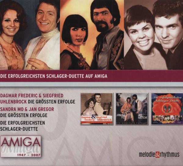 Erfolgreichsten Schlager-Duette Auf Amiga 3CD