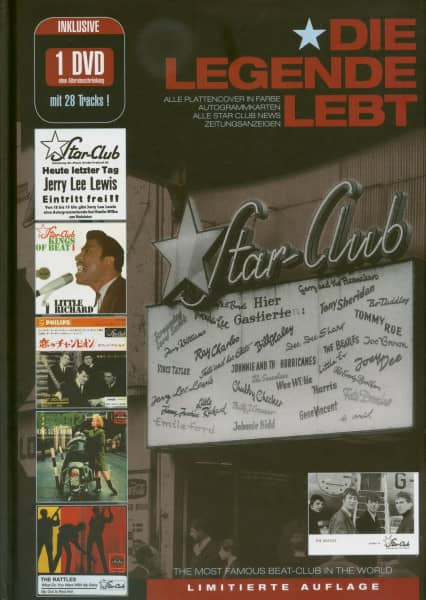 Star Club - Die Legende Lebt - Studio Hamburg - Radio Bremen (Buch & DVD) Limited Edition