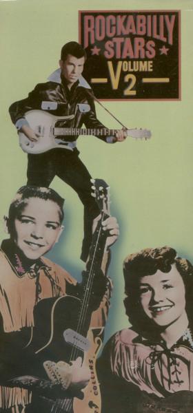 Rockabilly Stars (CBS) Vol.2 (US-Longbox)