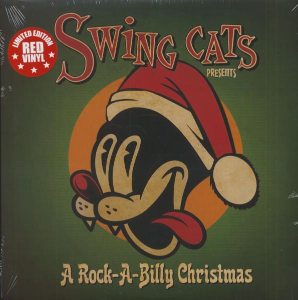 Swing Cats Presents - A Rock-A-Billy Christmas (LP, Red Vinyl, Ltd.)
