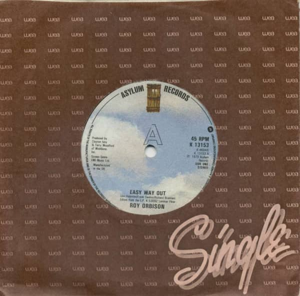 Easy Way Out - Tears (7inch, 45rpm, SC, CS)