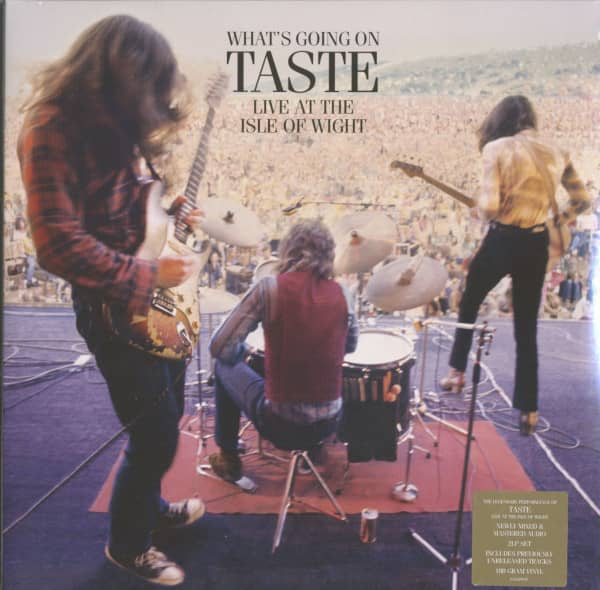 What's Going On - Live At The Isle Of Wright (2-LP, 180g Vinyl)