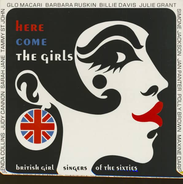 Here Come The Girls - Britsih Girl Singers of The Sixties (LP)