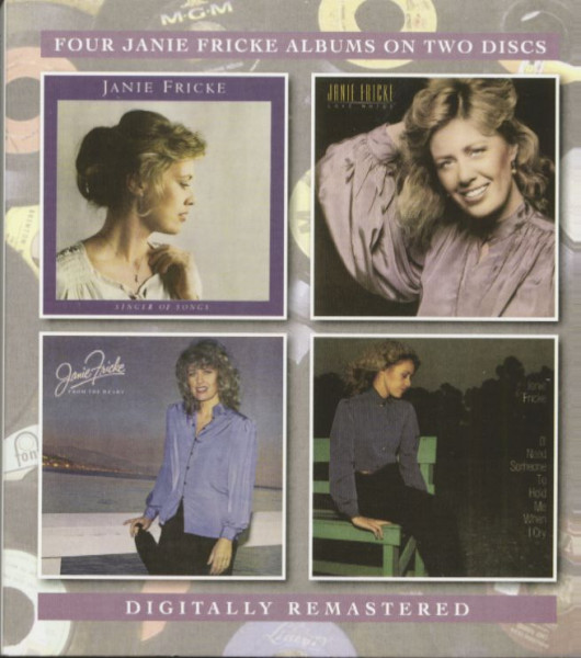 Four Janie Fricke Albums (2-CD)
