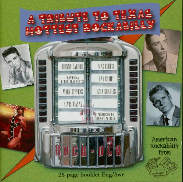 A Tribute To Texas Hottest Rockabilly (CD)