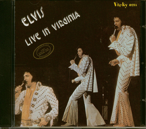 Live In Virginia (CD)