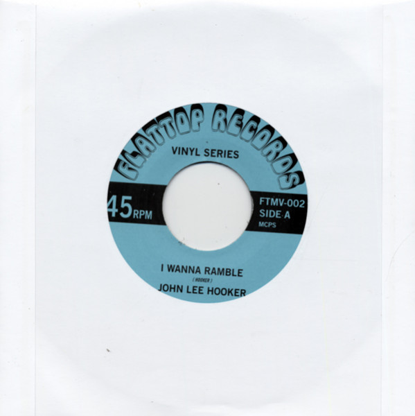 I Wanna Ramble - Let's Groove Baby 45rpm