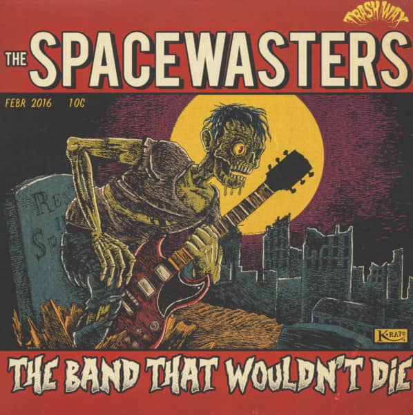 The Band That Wouldn't Die (LP, Colored Vinyl)