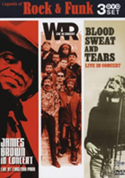 Legends Of Rock & Funk 3-DVD