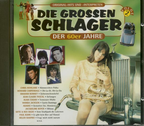 Die grossen Schlager der 60er Jahre (CD)