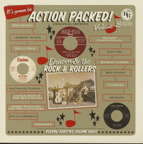 Action Packed! Vol.8 (LP)