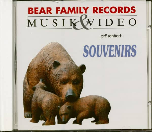 Bear Family Sampler - Souvenirs (CD)