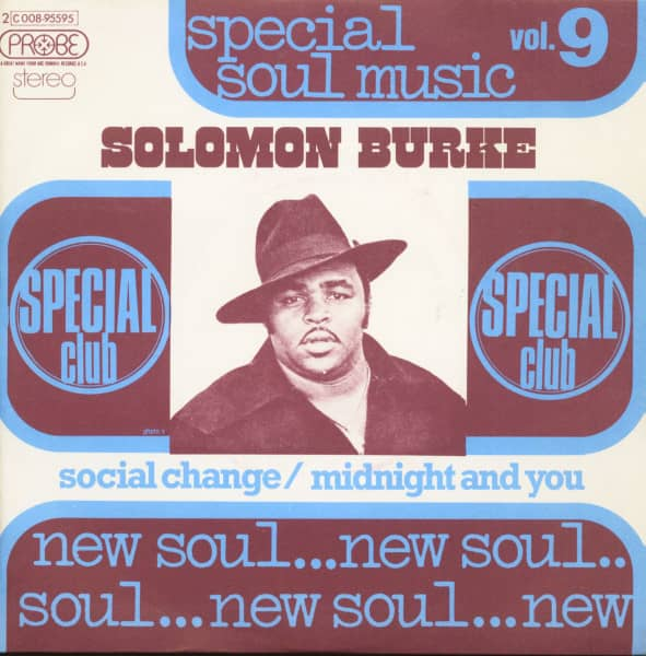 Special Soul Music Vol.9 (7inch, 45rpm, PS)