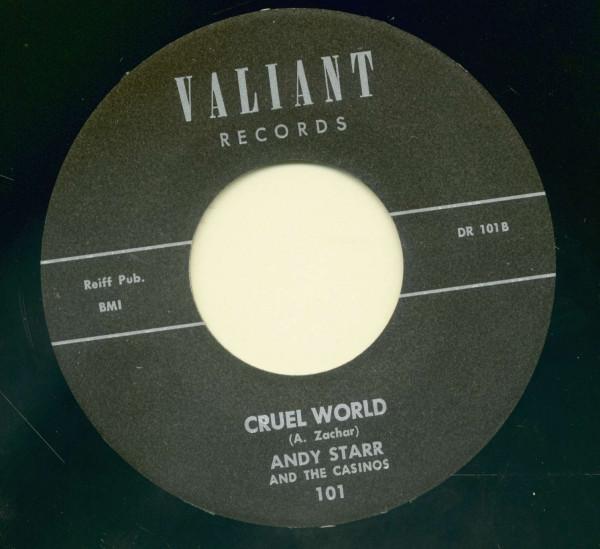 Just A Walkin' - Cruel World (7inch, 45rpm)