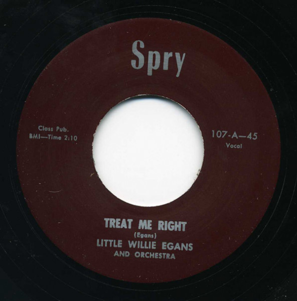 Treat Me Right - You Must Be Foolin' 7inch, 45rpm