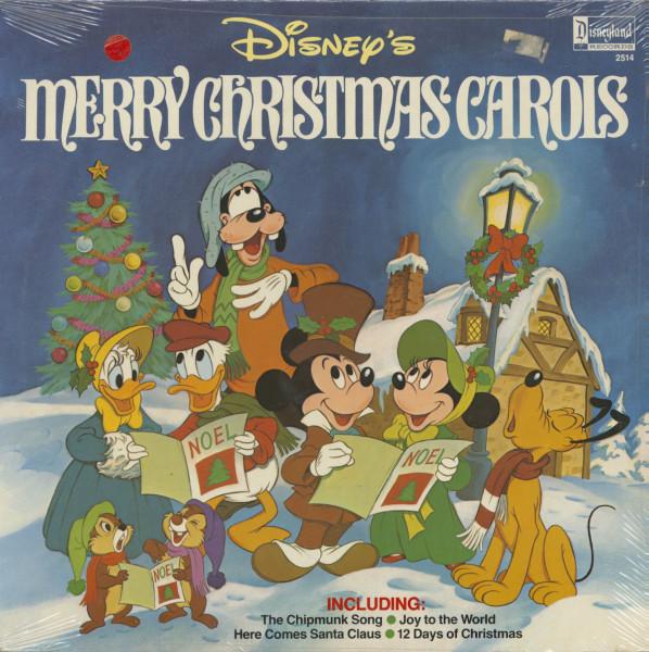 Disney's Merry Christmas Carols (LP)