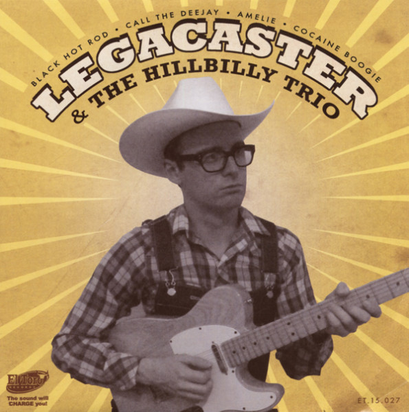 LEGACASTER & HILLBILLY TRIO 33rpm, PS, SC