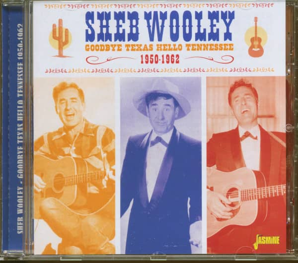Goodbye Texas, Hello Tennessee - 1950-1962 (CD)