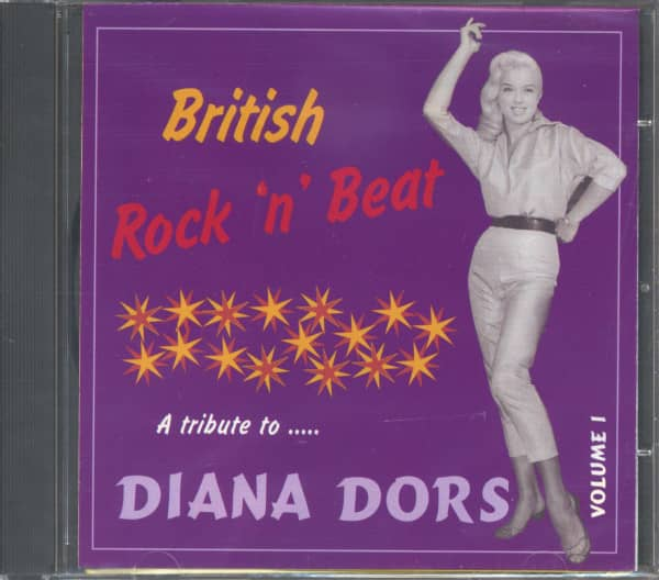 British Rock'n'Beat Vol.1 - A Tribute To Diana Dors (CD)