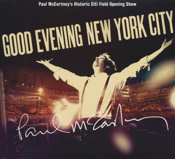 Good Evening New York City (2-CD-DVD Digipac)