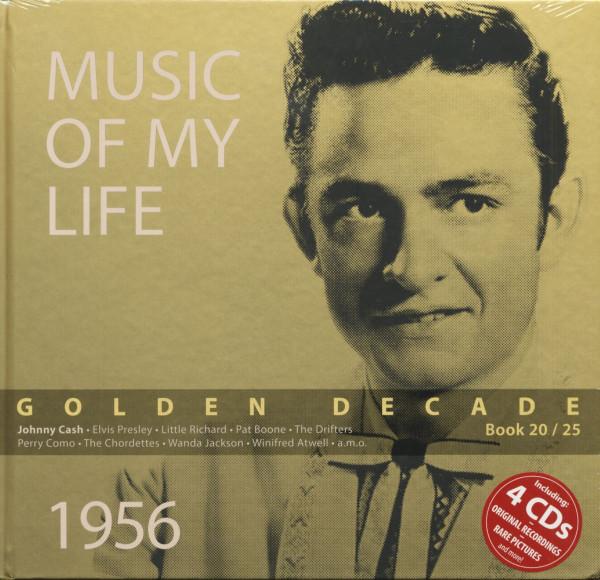 Golden Decade Vol.20 - 1956 (Book & 4-CD)