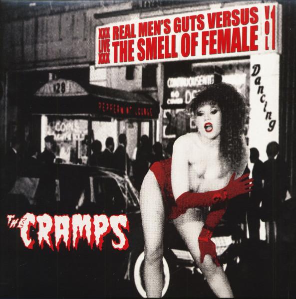 XXXLiveXXX - Real Men's Guts Versus The Smell Of Female (LP, Burgundy Vinyl, Ltd.)