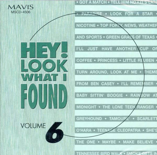 Hey! Look What I Found Vol.6 (CD)