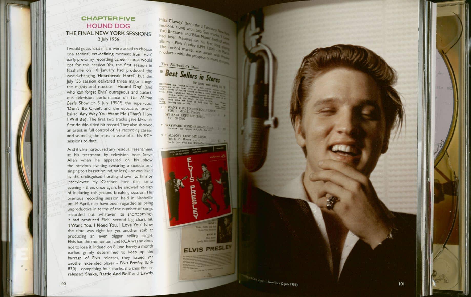 Elvis Presley Cd Elvis Studio Sessions 56 The Complete