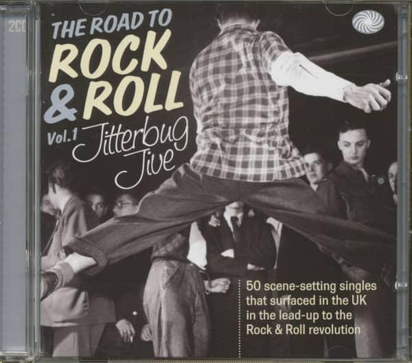 The Road To Rock'n'Roll Vol.1 - Jitterbug Jive (2-CD)
