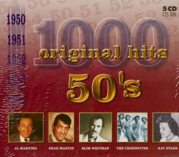 1000 Original Hits 50s Vol.1 (5-CD)