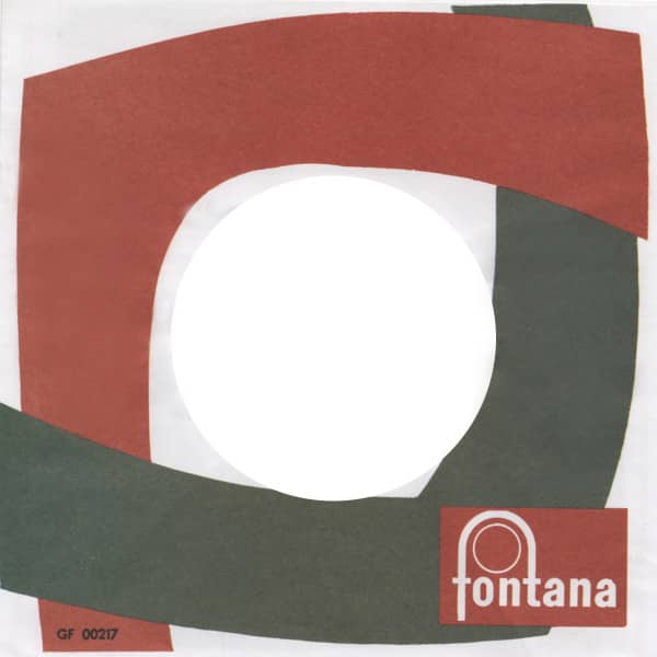 (50) Fontana - 45rpm record sleeve - 7inch Single Cover