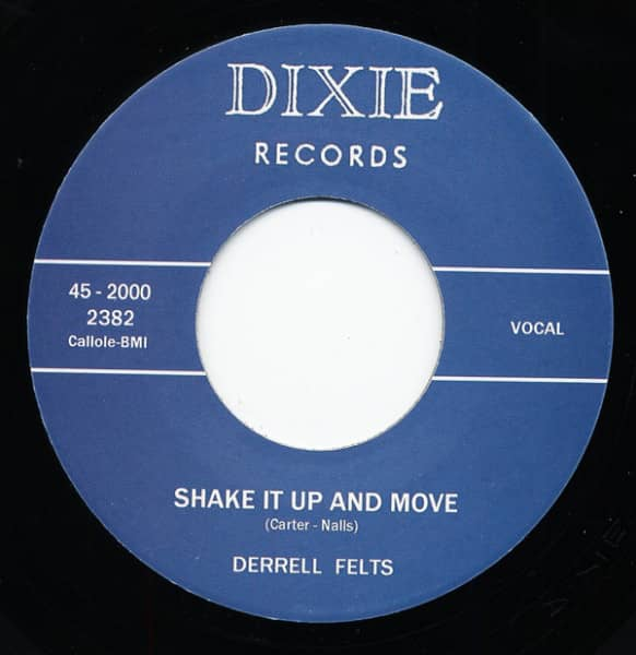 Shake It Up And Move - Too Much Lovin' 7inch