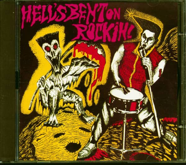 Hell's Bent On Rockin' (CD)
