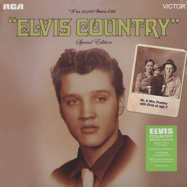 Elvis Country - Special Edition (2x180g Vinyl) Limited Edition