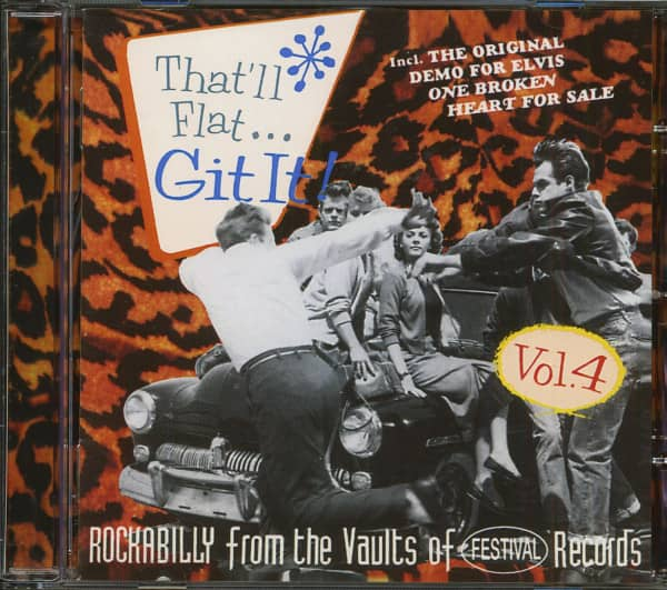 Vol.4 - Rockabilly From The Vaults Of Festival Records (CD)