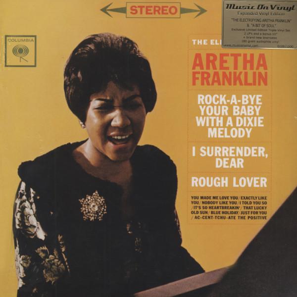 Electrifyng Aretha - A Bit Of Soul-3x180g Vinyl