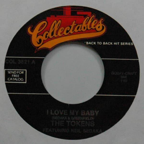 I Love My Baby b-w While I Dream 7inch, 45rpm