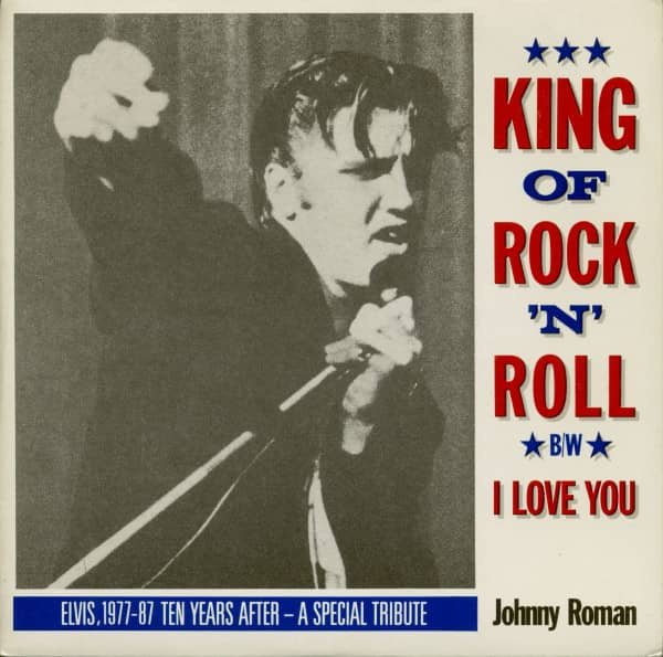 King Of Rock'n'Roll - I Love You (7inch, 45rpm, PS, SC)