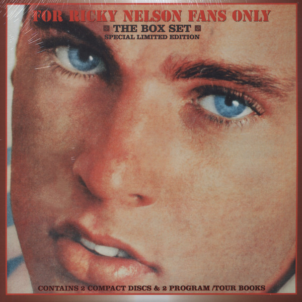 For Ricky Nelson Fans Only (2-CD - 2-Booklets) Limited Edition Set
