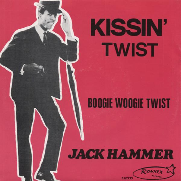 Kissin' Twist - Boogie Woogie Twist 7inch, 45rpm, PS