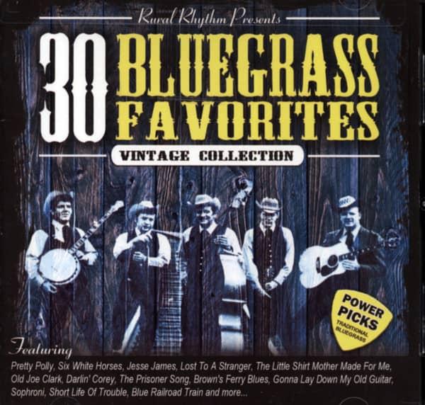 Rural Rhythm Presents - 30 Bluegrass Favorites