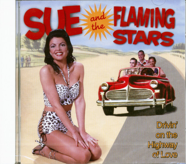 Drivin' On The Highway Of Love (CD)
