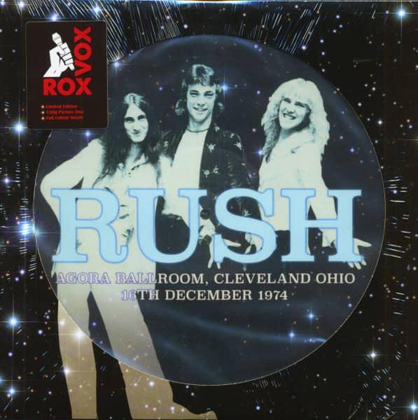 Agora Ballroom, Cleveland, Ohio, 16th December 1974 (LP, 180g Vinyl, Picture Disc, Ltd.)