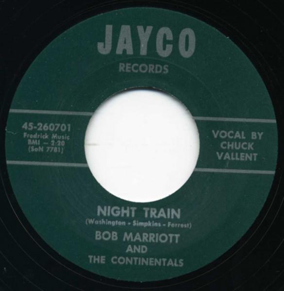 Night Train - I'll Walk A Mile 7inch, 45rpm