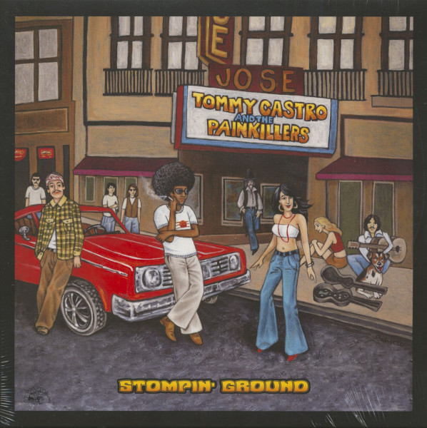 Stompin' Ground (LP, 180g Vinyl)